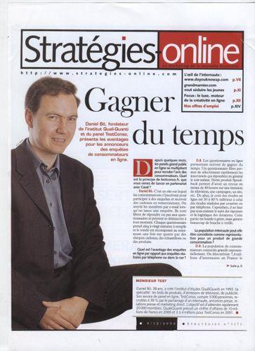 DBo Stratégies Online 2000[1]