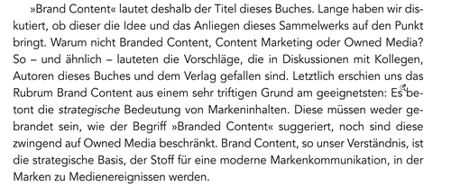 Brand content en allemand